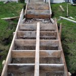 Forming for Concrete Steps