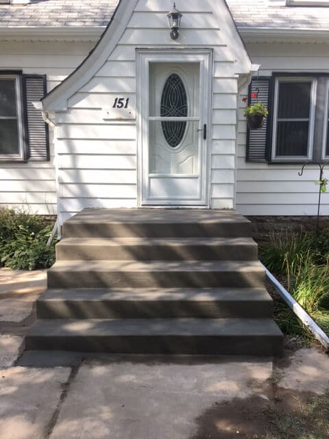Concrete porch Steps Twin Cities