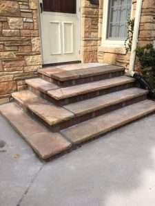 Stone Steps by Wohlwend Concrete