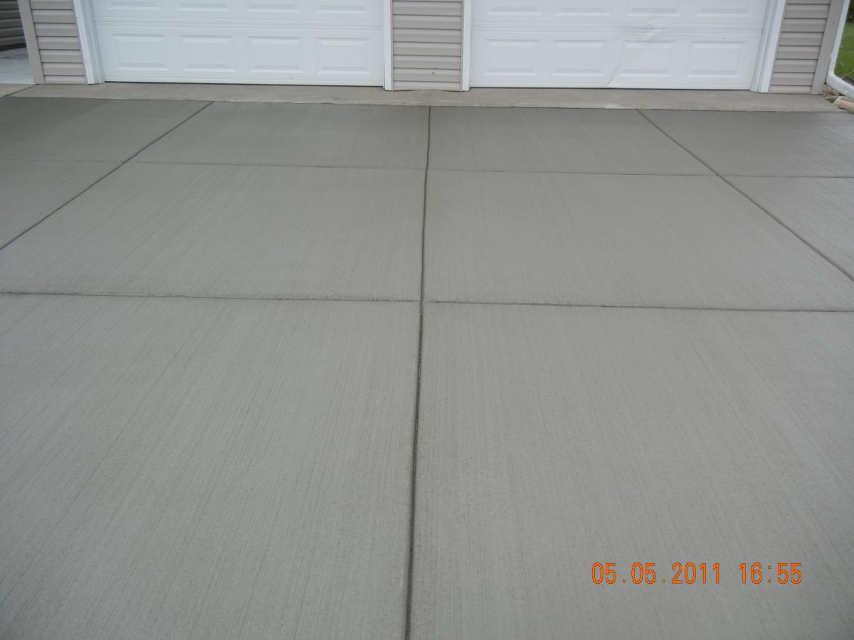 concrete garage apron twin cities
