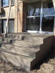 commercial concrete steps mn