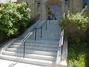 concrete church steps mn 1