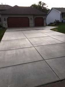 concrete driveway twin cities