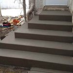 concrete porch steps mn