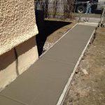 concrete sidewalk twin cities
