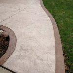 decorative concrete sidewalk mn