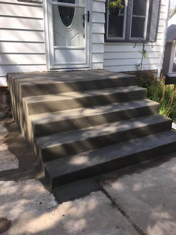 residential concrete steps oakdale