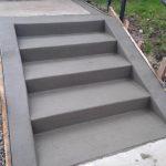 poured concrete steps mn