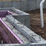 poured concrete wall mn