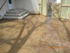 stamped concrete steps mn