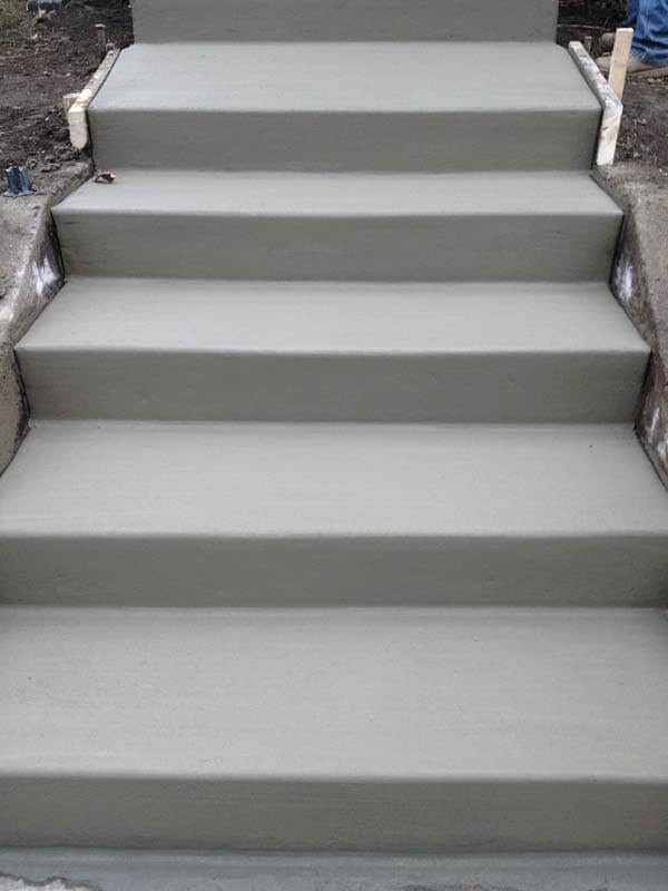 concrete step replacement oakdale