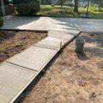 sidewalk driveway